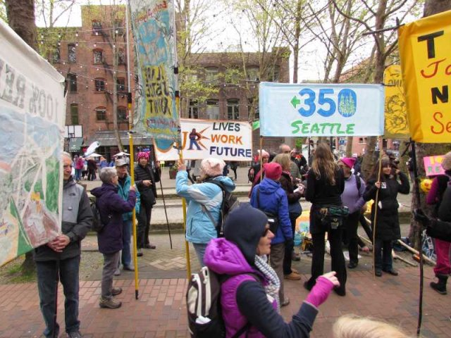 Seattle Climate March 2017